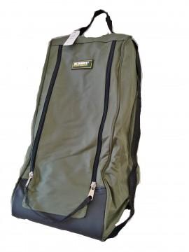 Geanta outdoor pentru incaltaminte X3M1, impermeabila, 100% poliester, 50 x 35 x 25 cm, verde/negru